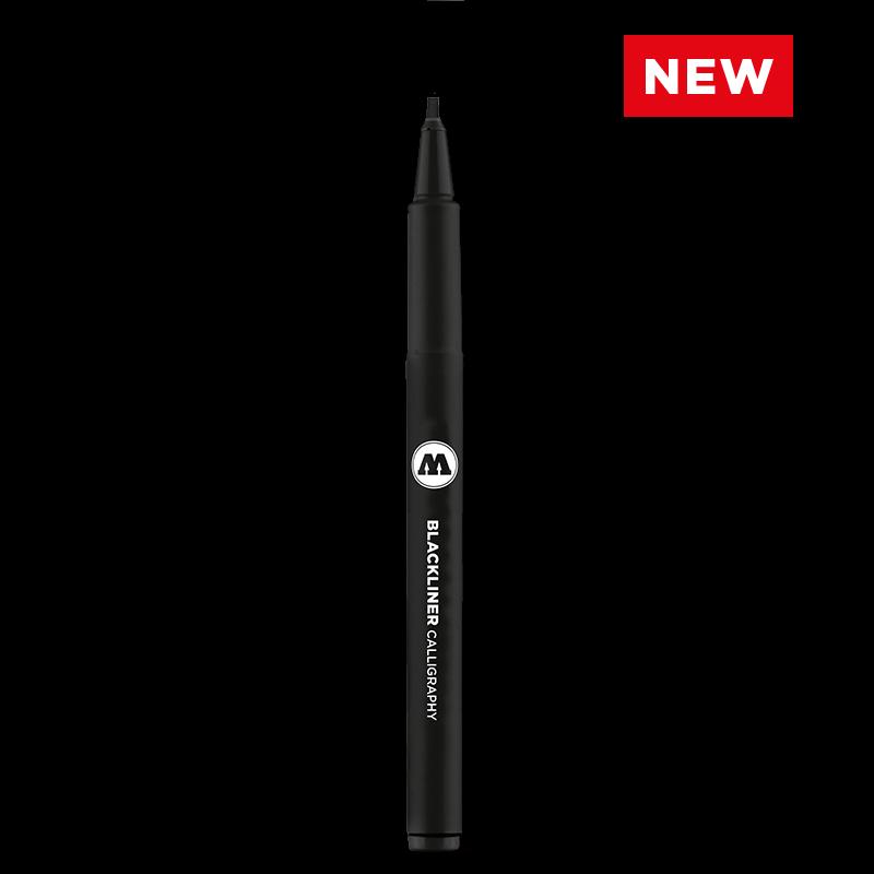 Маркер BLACKLINER 0.05 - 1 mm, Chisel, Round, Brush S, Calligraphy