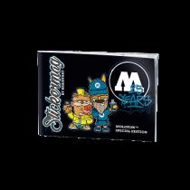 Набор стикеров Molotow Stickermag 25 Years Edition