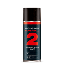 Аэрозольная краска Molotow Coversall 2 черная 400мл
