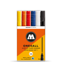 Набор маркеров One4All 127HS 6шт(200230)