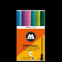Набор маркеров One4all 127HS 6шт(200231)