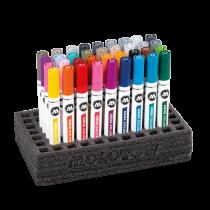 Набор маркеров Molotow Aqua Color Brush Set 36 штук