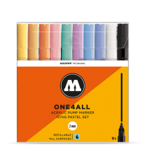 Набор маркеров One4all 127HS 10шт Pastel Set 2