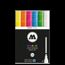 Набор маркеров Molotow CHALK Marker Basic-Set 2 6 штук 4 мм 200473