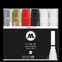 Набор маркеров Chalk 15мм Basic Set 1