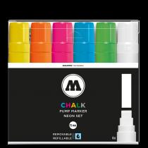 Набор маркеров Molotow CHALK Marker Basic-Set 2 6 штук 15 мм 200477