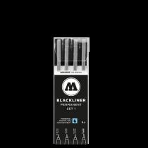 Набор Molotow Blackliner Set 1
