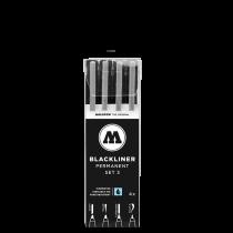 Набор Molotow Blackliner Set 3