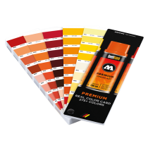 Цветовой веер Molotow Premium Real Color Card