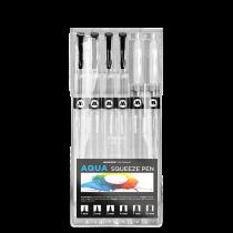 Набор маркеров Molotow AQUA Squeeze Pen Basic-Set 2 под заправку 727111