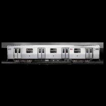 Объемный 3D холст Molotow Train poster N.Y.C big 800543