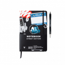 Скетчбук Molotow Notebook Street Edition 25 Years + ручка в подарок