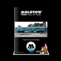 Плакат Molotow Train Hall Of Fame #1 Coming Home