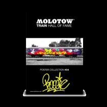 Плакат MOLOTOW TRAIN POSTER #04 BOOGIE