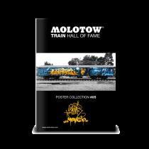 Плакат MOLOTOW TRAIN POSTER #05 SLIDER & CAPARSO