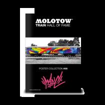 Плакат MOLOTOW TRAIN POSTER #06 MADC