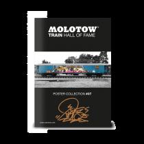 Плакат MOLOTOW TRAIN POSTER #07 RIOT