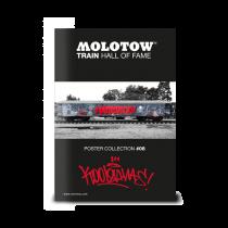 Плакат MOLOTOW TRAIN POSTER #08 KOOL SAVAS