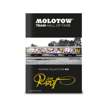 Плакат MOLOTOW TRAIN POSTER #12 RAZOR