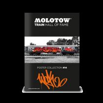 Плакат MOLOTOW TRAIN POSTER #14 WOK