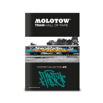 Плакат MOLOTOW TRAIN POSTER #15 TASTE