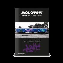 Плакат MOLOTOW TRAIN POSTER #16 LOOMIT