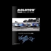 Плакат MOLOTOW TRAIN HALL OF FAME POSTER COLLECTION #25 SOTEN 2020