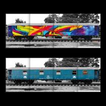 Плакат Molotow Train Hall Of Fame MAD C