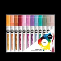 Набор маркеров Molotow Aqua Color Brush Basic Set 2