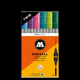 Набор маркеров Molotow ONE4ALL Acrylic Twin Basic Set 2 200489