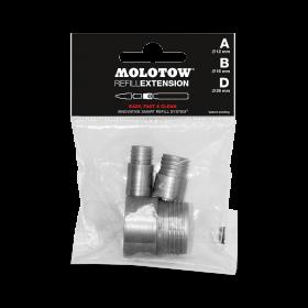 Набор проставочных колец Molotow Refill Extension Tryout Pack 693551