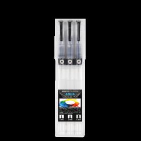 Набор маркеров Molotow AQUA Squeeze Pen Basic-Set 1 под заправку 727110